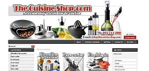 Captura de thecuisineshop.com